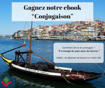 """Concours : Gagnez l'ebook """"Conjugaison portugaise"""""""