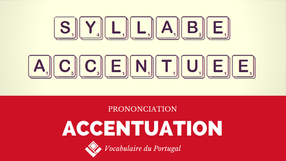 Fiche pratique : L'accentuation en portugais - Prononciation | Vocabulaire du Portugal