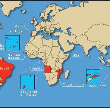 Fiche pratique: Les pays parlant portugais dans le monde