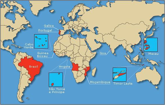 Fiche pratique: Les pays parlant portugais dans le monde width=