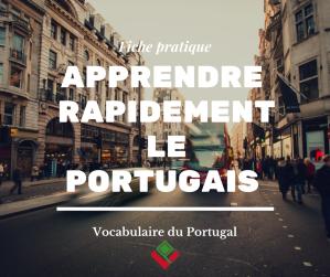 [Fiche pratique] Apprendre rapidement le portugais européen