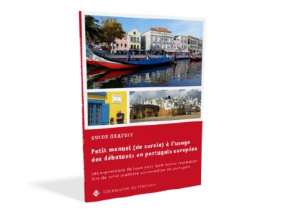 Petit manuel de survie à l'usage des débutants en portugais européen - Les expressions de base pour faire bonne impression lors de votre première conversation en portugais