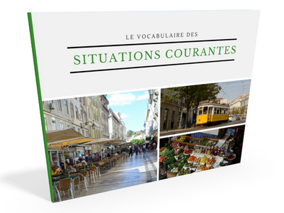 ebook PDF Le vocabulaire portugais des situations courantes