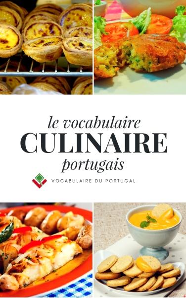Livre pour apprendre le portugais - Le vocabulaire culinaire portugais