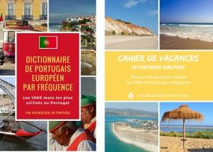 pack ebooks - Dictionnaire par fréquence - Cahier de vacances de portugais européen