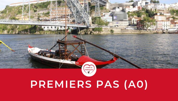 Cours en ligne gratuit pour débutants en portugais européen