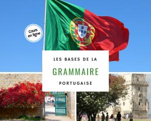 Cours en ligne : Les bases de la grammaire portugaise avec Vocabulaire du Portugal