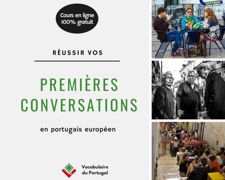 Cours en ligne gratuit : Réussir vos premières conversations en portugais européen avec Vocabulaire du Portugal