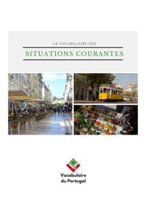 Livre pour apprendre le portugais - ebook PDF - Le vocabulaire des situations courantes en portugais européen