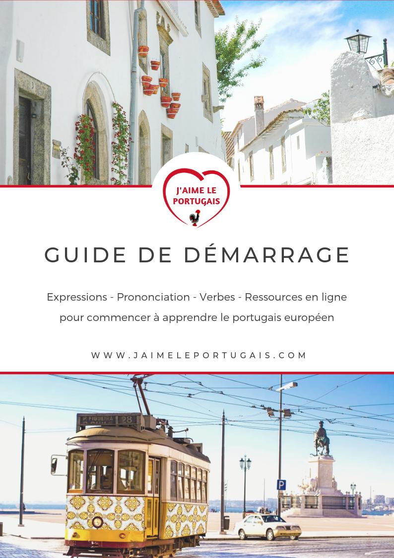 Guide gratuit pour débutants en portugais européen
